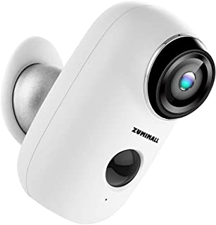 Wireless Rechargeable Battery Powered WiFi Camera, Home Security Camera, Night Vision,..