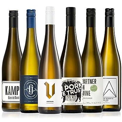 GEILE-WEINE-Weinpaket-Weisswein-6-x-075-Probierpaket-mit-Weisswein-von-Winzern-aus-Deutschland-und-Italien