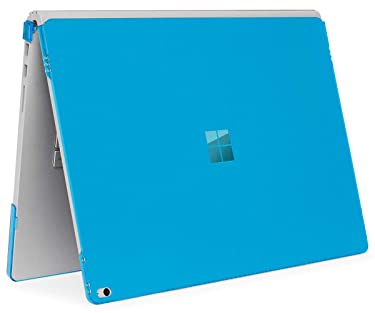 mCover Hard Shell Case for Microsoft Surface Book Computer 1 & 2 & 3 (15-inch Display, Aqua)