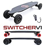 Evo-Spirit Switcher V1 - Skate électrique Convertible - Lithium 10,5A.h