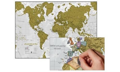 Scratch the World/bestel per set 5425013069922: Scratch Map of the World