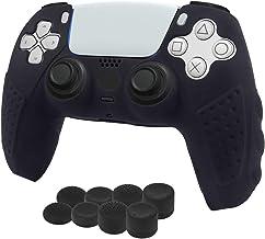 Aosai PS5 DualSense Controller Skin, Studded Anti-Slip PS5 DualSense Controller Cover Silicone Grip for PS5 Controller(Con...