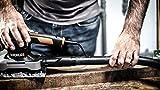 Worx WX642.1 Schwingschleifer – Elektrisches Profi Schleifwerkzeug mit 270W – Inkl. Schleifpapier & Koffer – Größe: 187 x 90 cm - 7