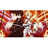 Puzzle - Sword Art Online Anime 300/500/1000/1500 Piezas For Adultos Regalo De Cumpleaños del Juguete De Madera Rompecabezas Kid WH Puzzle Shop (Color : B, Size : 1000PC)