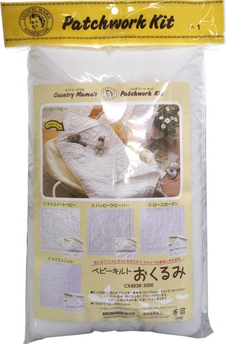 Country Mom Patchwork kit Baby Quilt Bunting 1. Hello Baby (Japan Import)
