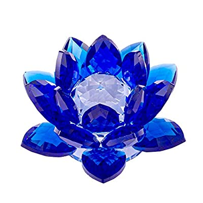 Crystal lotus flower feng shui home enchantment crystal lotus flower feng shui mightylinksfo