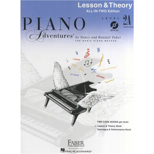 Piano Adventures: Lesson And Theory Book - Level 2A All In Two Edition - Sheet Music, CD