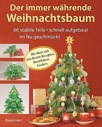 Der immer währende Weihnachtsbaum: 66 stabile Teile, schnell aufgebaut, im Nu geschmückt