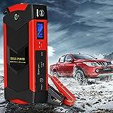 HPDOM Power Bank 12V 26000mAh Batería de Coche, arrancador portátil, Cargador de batería de Motor automático, batería de Refuerzo de Coche, para Viajes, Camping, Emergencia