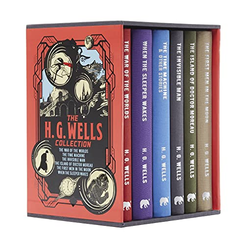 The H. G. Wells Collection: Boxed Set: Deluxe 6-Volume Box Set Edition (Arcturus Collector's Classics, 8)