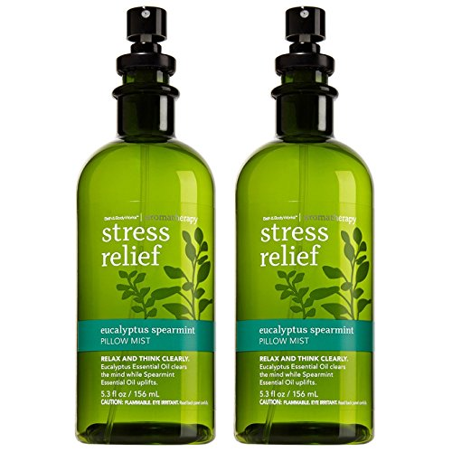 Bath and Body Works Aromatherapy Pillow Mist 2-Set (Stress Relief -...
