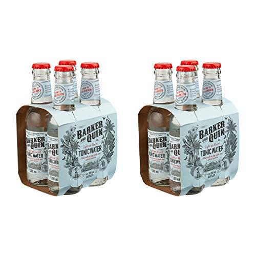 Barker & Quin Light at Heart Tonic 8 x 200ml / rein natürlich / Südafrika toller Begleiter zu Gin / handwerklich hergestellt / (Einweg Flaschen Preis incl. 2,00 € / 8 x 0,25€ DPG Einwegpfand)