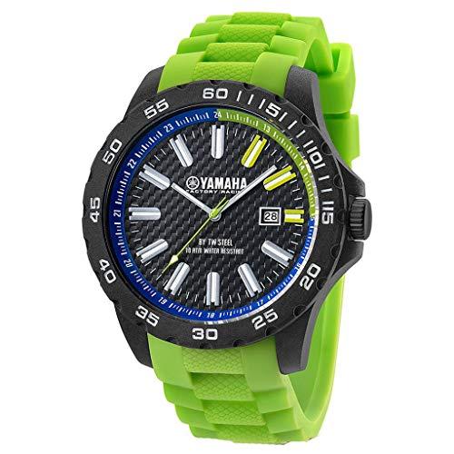 Tw Steel Damen Analog Quarz Uhr mit Silikon Armband Y9