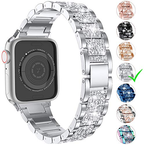 Top iwatch bands 42mm womens series 3 silver for 2021