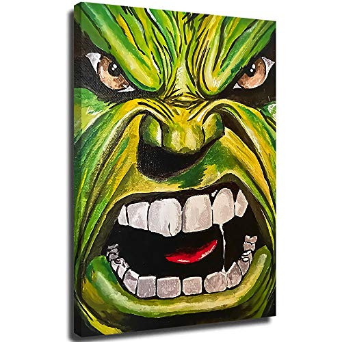 Avengers art painting superhero comic Oil Paintings Hand Painting Canvas Artwork Contemporary Pictures Modern Landscape for Office Decoration 24'x36'