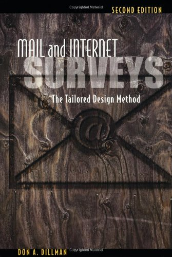 Mail and Internet Surveys: The Tailored Design Method