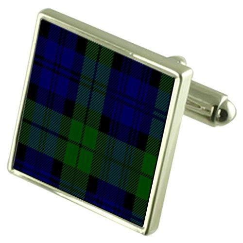 Select Gifts Boutons de manchette Black Watch Tartan