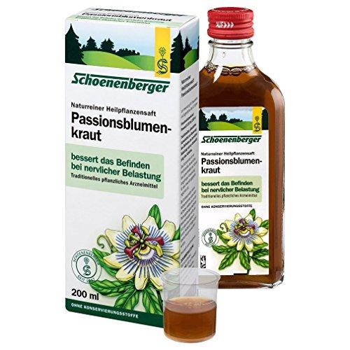 Passionsblumenkraut. Naturr. Heilpflanzensaft bio (200 ml)