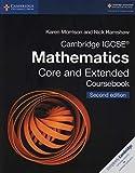 Cambridge Igcse(r) Mathematics Core and Extended Coursebook [Lingua inglese]