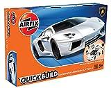 Airfix j6019–quickb uild de construcción–Lamborghini Aventador, Nuevo Color , Modelos/colores Surtidos, 1 Unidad