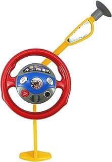 Bibipangstore おもちゃを遊んでいる子供たち面白い電子後部座席ドライバーカーシートのステアリングホイール