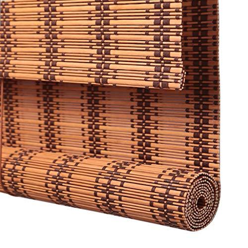 TLMY Rolluik Bamboe Gordijn Heffen Venetiaanse Blinds Retro Zonnescherm Waterdichte Installatie Venster Partitie Bamboe rolgordijn