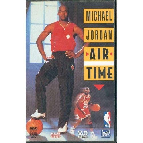 NBA Superstars: Michael Jordan - Air Time [VHS]