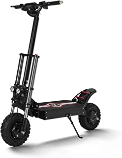 Electric Scooter Adults,SUV Electric Scooter with Display and LED Indicator Light Speeds Up to 44MPH Dual 1200W Motors, 44Miles Long Range, Portable and Adjustable Design,