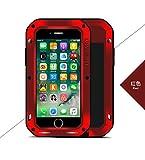 Love Mei - Carcasa para iPhone 7 Plus, Resistente a los Golpes, Polvo y Polvo, de Aluminio, Resistente a la Nieve, para Apple iPhone 7 Plus (5,5 Pulgadas)