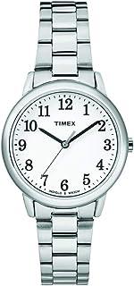 Timex Women's Easy Reader Analog Quartz Silver Watch 30mm, TW2R23700