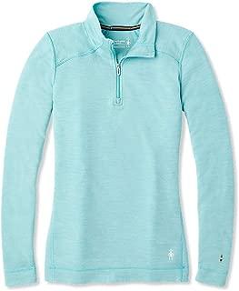 Women's Base Layer Top - Merino 250 Wool Active 1/4 Zip Outerwear