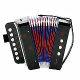 Andoer Mini Small Accordion 7-Key 2 Bass Musical Instrument...