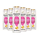 [page_title]-Pantene Pro-V Locken Pur Shampoo, 6er Pack (6 x 300 ml), Für Glänzende Und Elastische Locken, Haar Locken, Shampoo Locken, Haarpflege, Shampoo Damen
