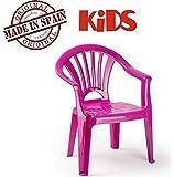 Plastiforte Silla de Plástico Color Rosa para Niños