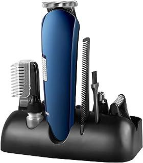 ماكينة حلاقة كهربائية للرجال ماكينة حلاقة وتشذيب 8 في 1 ماكينة حلاقة دوارة بدون أسلاك وقابلة لإعادة الشحن عبر USB