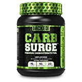 Carb Surge Carbohydrate Powder - Clean Workout Fuel w/ Carb10 Pea Starch & Cluster Dextrin for Enhanced Performance, Lean Muscle Mass, and More - Unflavored, 30 SV