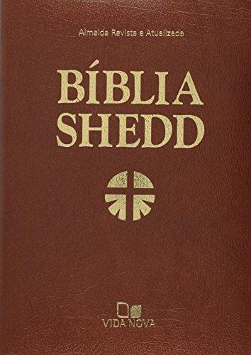 Bíblia Shedd - Luxo - covertex marrom