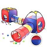 ボールハウス 子供用テント キッズテント 室内 4点セット 折り畳み式 コンパクト 収納袋付き 収納便利 誕生日 入園祝い 子どもの日 プレゼントに最適 TOMOMORI