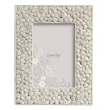 Grasslands Road Everyday Life Photo Frame, Grey Floral, 4 by 6-Inch