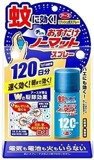 【アース製薬】おすだけノーマット スプレータイプ 120日分 ×5個セット