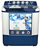 Intex 7.2 kg Semi-Automatic Top Loading Washing Machine (WMSA72DB, Dark Blue)