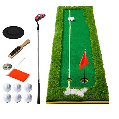 ChengBeautiful Estera de Golf Golf De Interior Práctica Verde De Golf Práctica De Golf Putter Verde Césped Artificial Rollo De Hierba Verde Interior (Color : 4 Color, tamaño : 50 * 300cm)