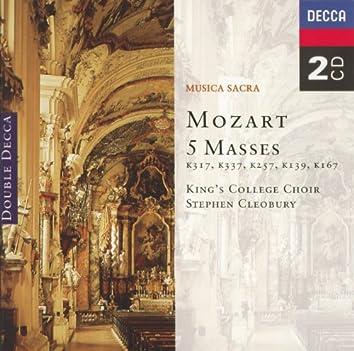 Mozart: Five Masses