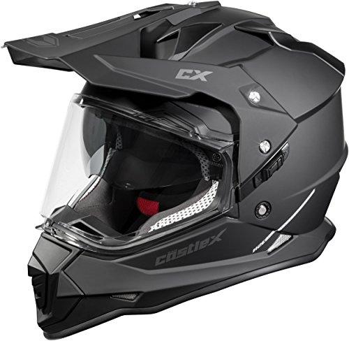Castle X Mode Dual Sport SV Helmet (Matte Black - 3X-Large)