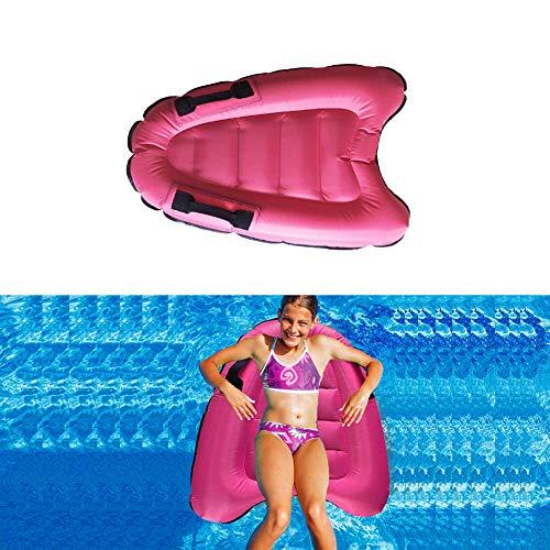 aaerp Aufblasbares Surfbrett mit Haltegriff, schwimmende Drainage auf aufblasbarem Schwimmbett, Trittbrett, Wellenbrett, Baby-Kinder, die Spielzeug Schwimmen