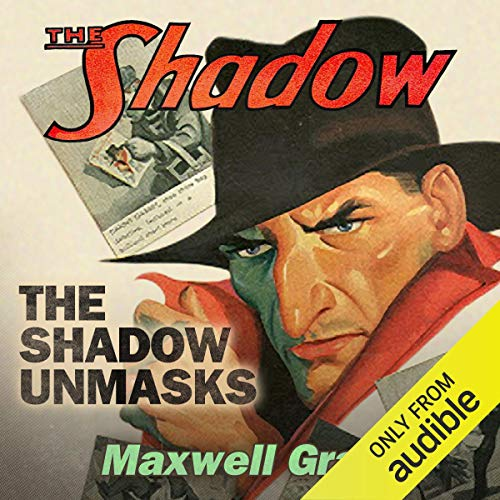 The Shadow Unmasks audiobook cover art