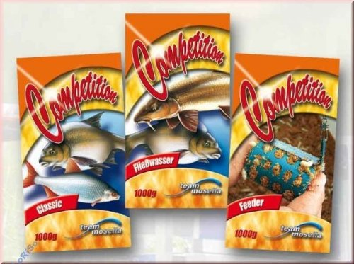 Mosella Competition Feeder 1kg Grundfutter