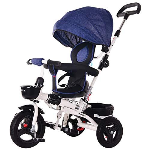 AI-QX kwaliteit 4 in 1 slim ontwerp Trike Rider driewieler Kids Trike met roterende stoel UK
