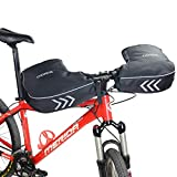 ODIER Bike Handlebar Mitts Fleece Liner Winter Fat Bike Mittens Extreme Cold Weather MTB Bicycle...
