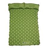 Aizami Sleeping Pad for Camping Waterproof Camping Pad 78.7' x 48' Self Inflating Camping Mattress Pad 2 Person Portable Sleeping Pad for Camping, Air Mattress Camping for Tents Hiking Car Camping